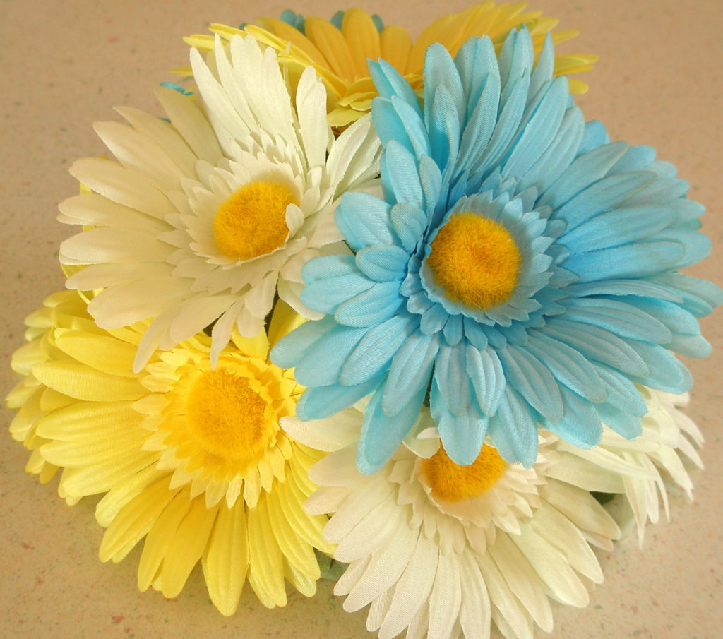 Gerber Daisy Wedding Cake Topper Floral Cake Toppers
